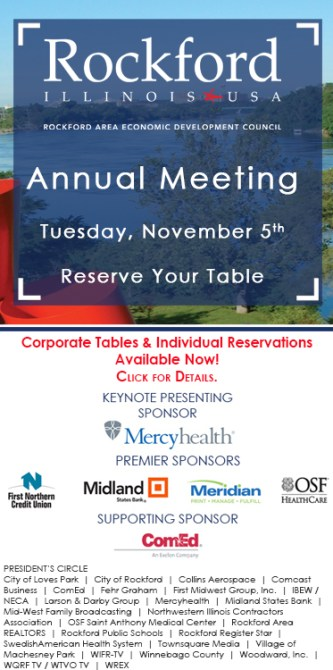 Annual Meeting 2019 - Tuesday November 5 - Call to Action - Sponsors