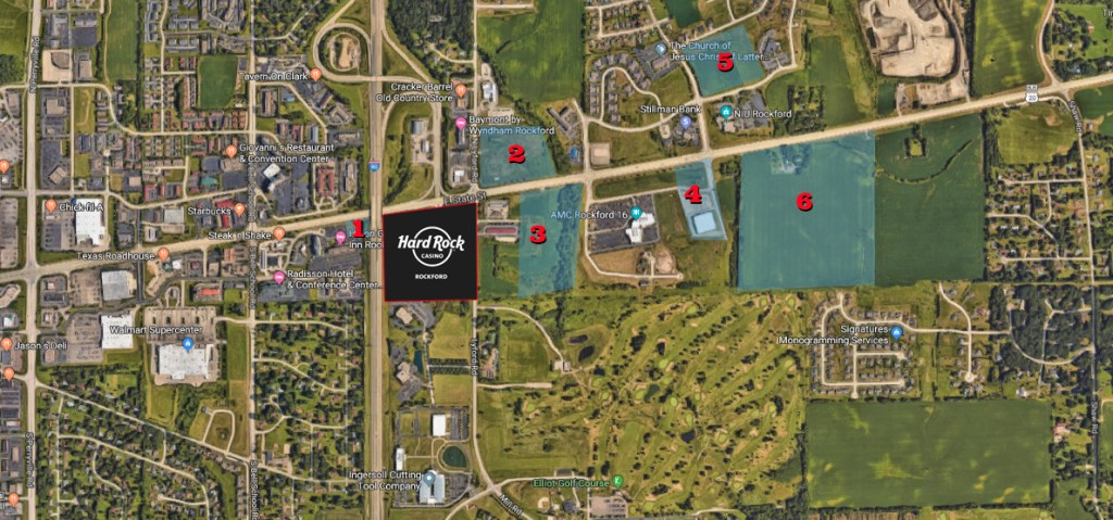 Rockford IL Land for Sale Hard Rock Casino