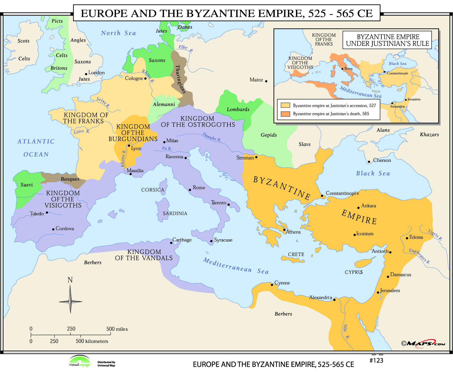 123 Europe Amp The Byzantine Empire 525 565 Ce