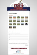 This website is fully hand coded with the top graphics provided by AJ Nazzaro