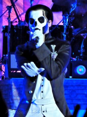 Papa Emeritus III without hat