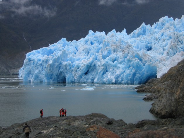 San Rafael Glacier, Chile. Copyright Neil Glasser