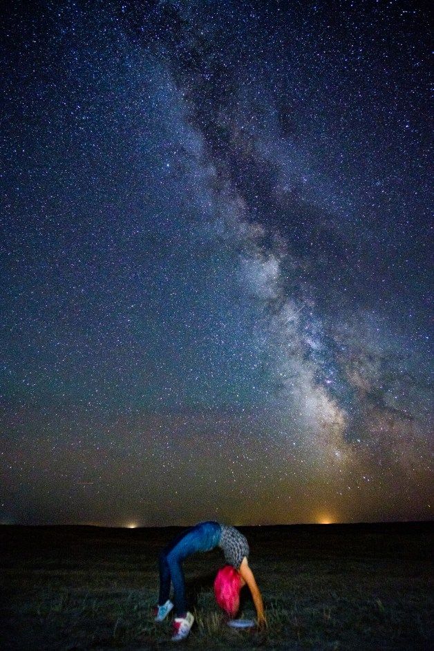 Wyoming at night. Copyright 2016 Servaas Neijens, National Geographic, The Netherlands