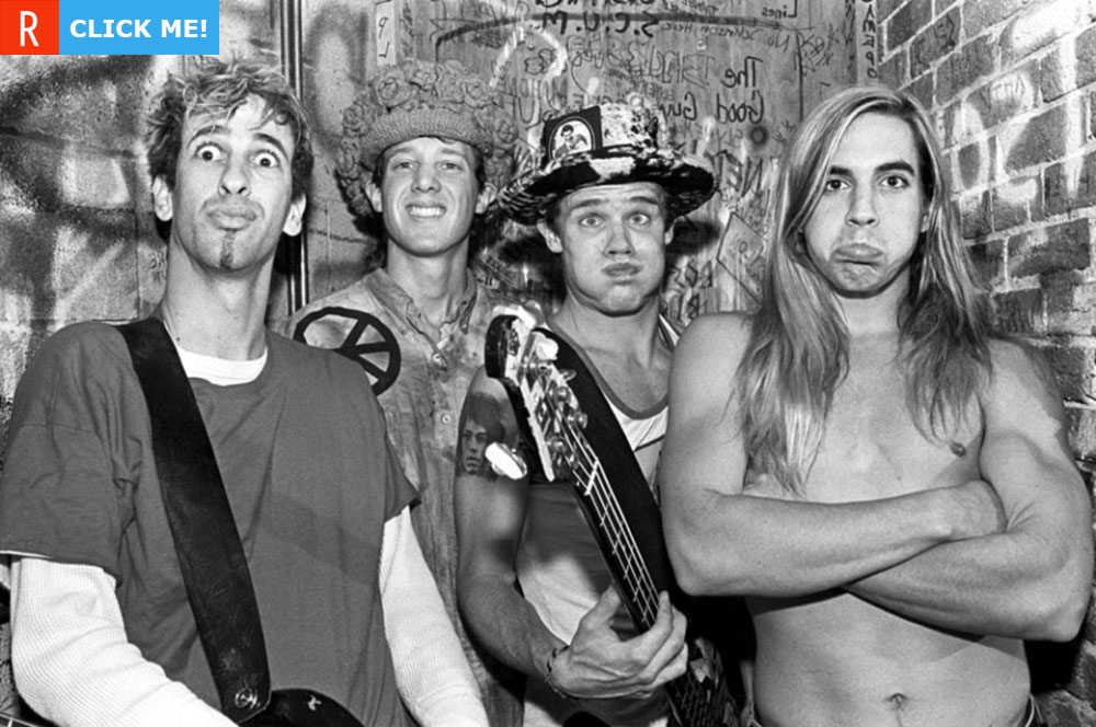 Red Hot Chili Peppers в 1986 (фото)