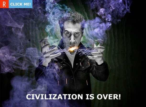 Серж Танкян вынес вердикт — «Civilization is over»