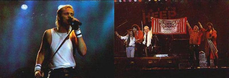 Uriah Heep на сцене Олимпийского в 1987-м (фото)