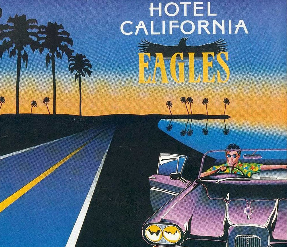 essay on hotel california eagles Custom hotel california essay paper the eagles' song, hotel california , is very famous and known to almost everyone all the songs from the album of the same name make the listeners think about such important problems as materialism, insanity, interrelations between art and commerce, drug addiction, fame, love, and american culture in general.