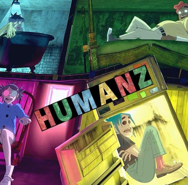 Обзор «Humanz» – нового альбома Gorillaz