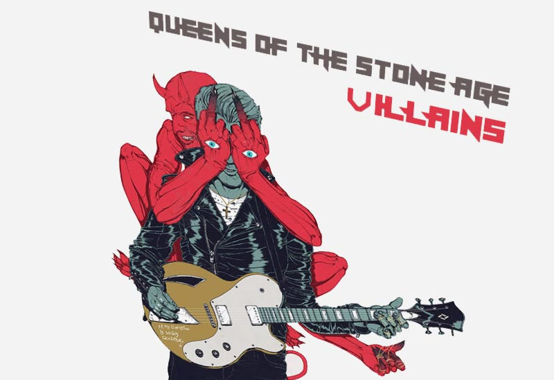Альбом Queens of the Stone Age «Villains» (картинка)