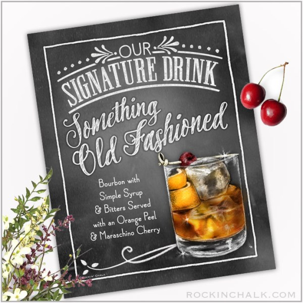 Something Old Fashioned Drink