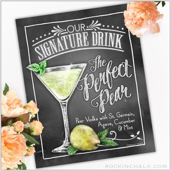 Perfect Pear Martini