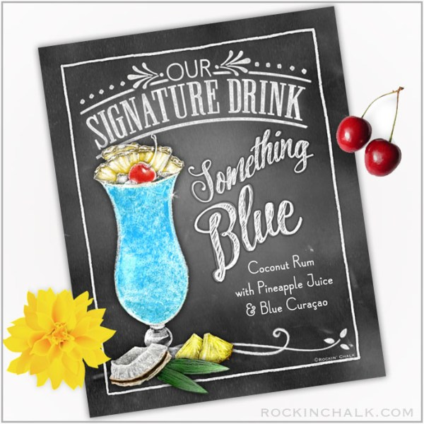 Something Blue Hurricane