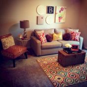 Furniture on budget for apartment living room 15
