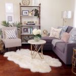 Furniture on budget for apartment living room 19