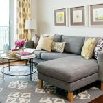 Furniture on budget for apartment living room 3