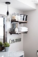 Rustic farmhouse style bathroom design ideas 4