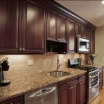 Rustic And Classic Wooden Kitchen Cabinet 17