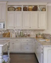 Rustic And Classic Wooden Kitchen Cabinet 23