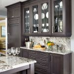 Rustic And Classic Wooden Kitchen Cabinet 8