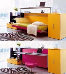 Saving space with creative folding bed ideas 22