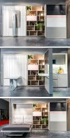 Saving space with creative folding bed ideas 47