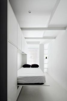 Saving space with creative folding bed ideas 49