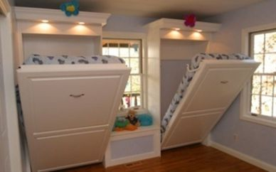 Saving space with creative folding bed ideas 56