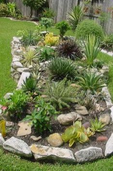 Texas Style Front Yard Landscaping Ideas 7