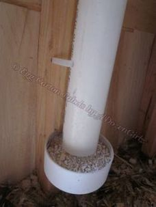 Chicken feeder from pvc 19