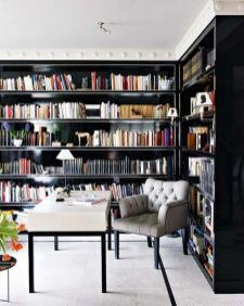 Home Library Design and Decorations Ideas 18