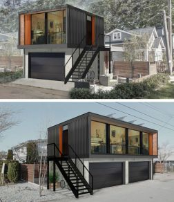 Best shipping container house design ideas 55