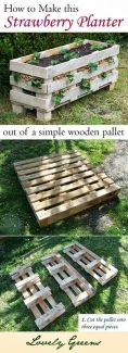 Amazing Creative Wood Pallet Garden Project 26