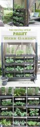 Amazing Creative Wood Pallet Garden Project 35