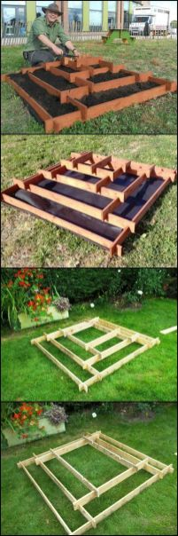 Amazing Creative Wood Pallet Garden Project 58
