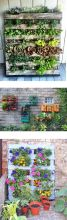 Amazing Creative Wood Pallet Garden Project 8