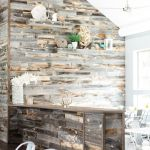 Artistic Pallet, Peel and Stick Wood Wall Design and Decorations 50