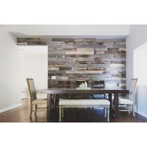 Artistic Pallet, Peel and Stick Wood Wall Design and Decorations 72
