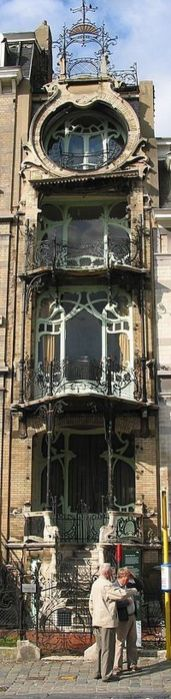 Beautiful art nouveau building architecture design 18