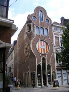 Beautiful art nouveau building architecture design 22