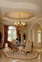 Glorious and Luxury Western Dining Room Design 11