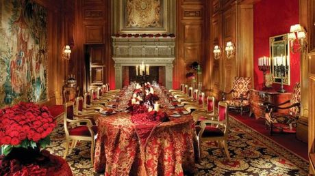 Glorious and Luxury Western Dining Room Design 13