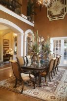 Glorious and Luxury Western Dining Room Design 14
