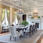 Glorious and Luxury Western Dining Room Design 28