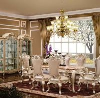Glorious and Luxury Western Dining Room Design 38