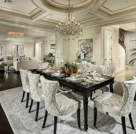 Glorious and Luxury Western Dining Room Design 4