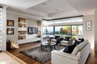 Modern Mediterranean Living Room Interior and Decorations 5