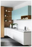 Modern and Contemporary Kitchen Cabinets Design Ideas 42