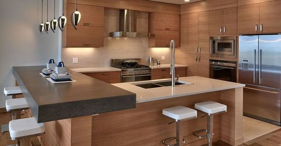 Modern and Contemporary Kitchen Cabinets Design