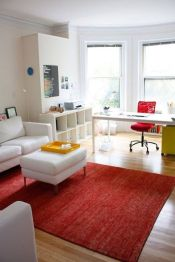One room apartment layout design ideas 6