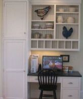 Awesome Built In Cabinet and Desk for Home Office Inspirations 44